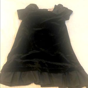Girls black special occasion dress